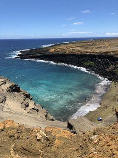 2019年9月 大人4人の詰め込みハワイ島旅 �グリーンサンドビーチ他