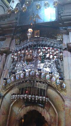 エルサレム(聖墳墓協会、ヴィア・ドロローサ、聖アンナ教会、嘆きの壁、アル・アクサー寺院、岩のドーム)