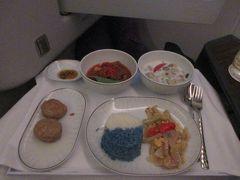 タイ国際航空 ビジネスクラス バンコクからオークランド