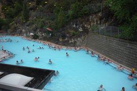 初夏のカナディアン・ロッキー2019 Day6-6(Radium Hot Springsの温泉と町)