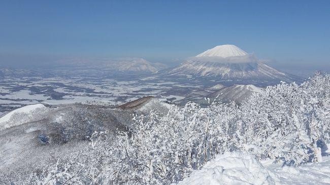 快晴のルスツイゾラ山頂に行くことができました。