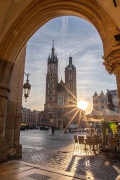 初めてのポーランド その6 クラクフ旧市街散策(中央市場広場周り)