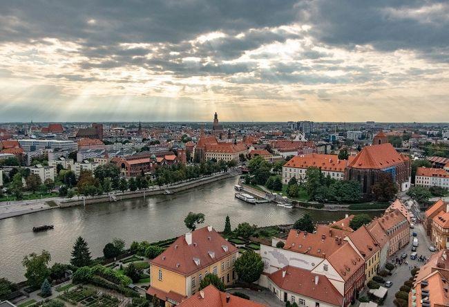 初めてのポーランド その10 クラクフ~水の街ヴロツワフ
