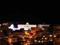 魅惑のシチリア×プーリア♪ Vol.620 ☆マテーラの美しいルミナリエ:主会場からホテルへ眺めながら帰る♪