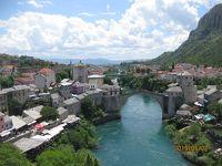 ドブロブニクへ行く途中でモスタル観光