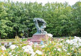 初めてのポーランド その14 ワジェンキ公園~スターウォーズジェット