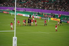ラグビーワールドカップ 2019™日本大会 ニュージーランド対カナダ観戦 大分スポーツ公園総合競技場