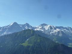 2019 スイス2人旅  2 Berner Oberland Regional-Pass を使って~ シーニゲプラッテ
