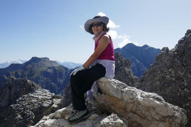 2019年ドイツ&オーストリアハイキングー6 Top of Tyrol &SERLES & 翌日ELFER登頂