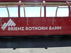 2019 スイス2人旅 3  Regional-Pass を使って~ ロートホルンとブリエンツ湖、ニーダーホルン、トゥーン