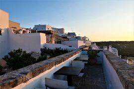 魅惑のシチリア×プーリア♪ Vol.636 ☆オストゥーニ:高級ホテル「ラ・ソッミタ」 美しい夕暮れ♪