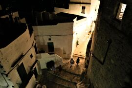 魅惑のシチリア×プーリア♪ Vol.639 ☆オストゥーニ:高級ホテル「ラ・ソッミタ」 妖艶な夜景♪