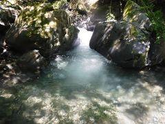 倉沢谷本谷 暑い日は適度に泳げる沢登りへ