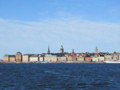夏休みはバルト海船旅【1】ストックホルムで朝の海上散歩
