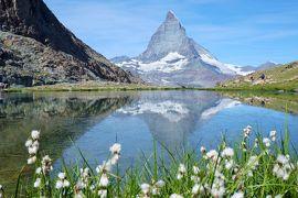 スイス3大明峰とロマンティック街道の旅 6.マッターホルンを見ながらハイキング