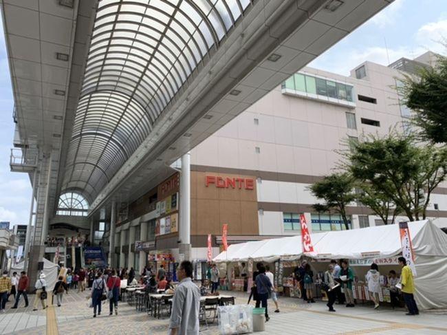 秋田駅前に出かけたら、イベントをしていました。