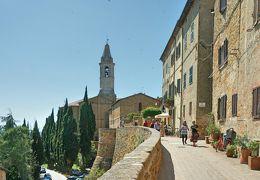 アマルフィ海岸 + トスカーナ・ドライブ 815km - #14 世界遺産 ピエンツァ