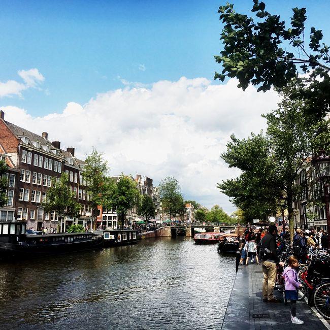 2019年夏 ヨーロッパ周遊旅行<br />7か国目:オランダ(アムステルダム)