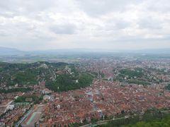 2019GW ブルガリア・ルーマニア その15 トゥンパ山からブラショフの街を一望してシナイアへ