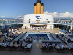 コスタ・ネオロマンティカで行く 2歳子連れ旅② 出航/船内探検