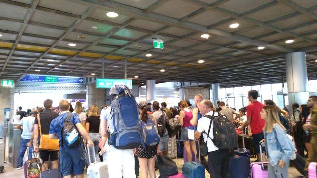 最終日帰国です。<br />荷造りをして、地球の歩き方には載っていなかったJERUSALEM YIZHAK NAVON駅から電車でベン・グリオン空港へ行きます。<br /><br />この旅行記では1NIS=30円で換算しています。<br />
