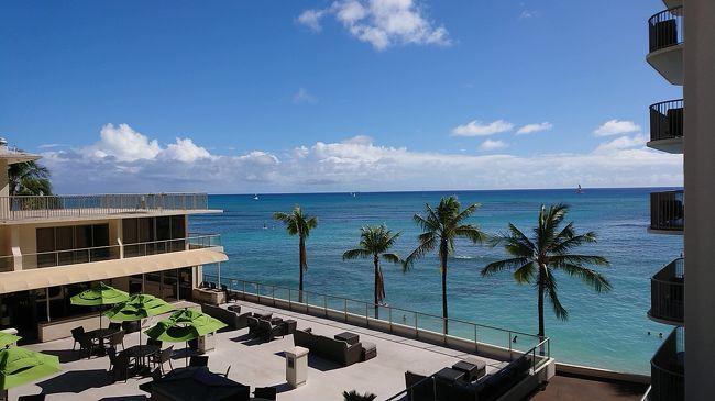 この時期の定番旅!<br />今年は日本を飛び出してハワイへ。<br /><br />2度目のハワイとはいえ19年ぶり。<br />ほぼハワイ初めて!な2人の旅行記です!<br /><br />