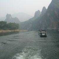 中国桂林漓江下り