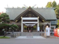 東室蘭の中島公園・中嶋神社を散策して苫小牧に宿泊はルートイン苫小牧駅前