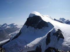 スイス アルプスの絶景とパリ、ウィーン観光18日間④-4 ブライトホルン登山