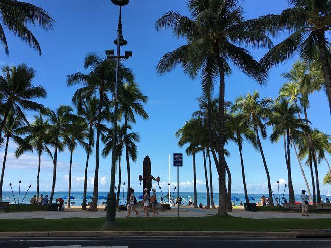 やっぱりハワイはイイ。<br />と言う事で、またまた来ちゃいました! <br />今回も必ず肉をたべます(o^^o)