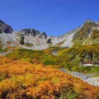 北アルプス 涸沢・奥穂高の紅葉を楽しむ