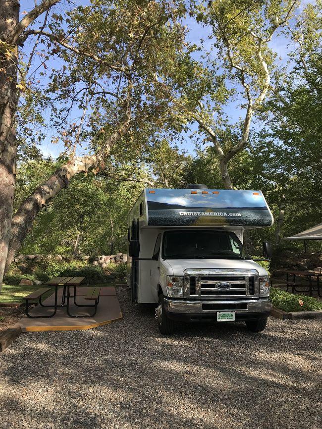 初めてのキャンピングカー旅で滞在したRV park全6ヶ所を紹介します&#127797;<br /><br />&#127797;Barstow KOA(バーストー)<br />&#127797;Rancho Sedona RV park(セドナ)<br />&#127797;The View Campground(モニュメントバレー)<br />&#127797;Wahweap Campground(レイクパウエル)<br />&#127797;Oasis RV Resort(ラスベガス)<br />&#127797;Dockweiler RV park(L.A.)<br /><br />これから行かれる方のご参考まで&#10024;&#10024;