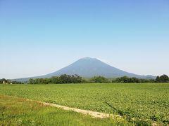 北海道ニセコ 羊蹄山望むリゾートホテルの朝食
