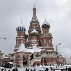 2019年 年始マイルでロシア4泊6日 その2 ホワイトクリスマスなモスクワ編