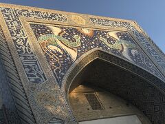蒼の世界に浸るウズベキスタンの旅  4日目の3 ブハラの3