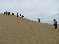初秋の山陰めぐり(21)念願かなって鳥取砂丘へ