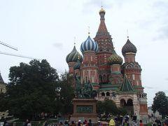 ヴォルガ川を巡る旅 vol.2 モスクワを夜行列車に乗るまでちょこっと観光
