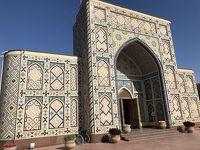 蒼の世界に浸るウズベキスタンの旅  6日目の1 サマルカンドの1