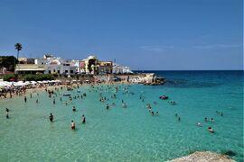 魅惑のシチリア×プーリア♪ Vol.692 ☆サンタ・マリア・アル・バーニョ:青い海を眺めて♪