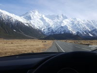 ニュージーランド南島をひたすらドライブ�マウントクックをトレッキング