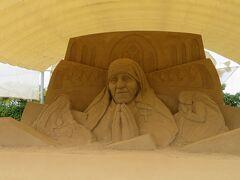 初秋の山陰めぐり(22)鳥取砂丘 砂の美術館