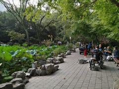 国慶節に上海にゆく 最終日は、魯迅公園と松茸アイス