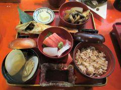 富山の旅① 「環水公園」と「割烹まる十」の万葉料理
