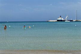魅惑のシチリア×プーリア♪ Vol.720 ☆オートラント:オートラント湾ビーチ 晴れて美しい風景に♪