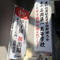 1泊2日 茨城空港〜神戸空港 甲子園 選抜高校野球観戦 石岡一高