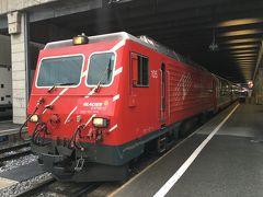 スイス アルプスの絶景とパリ、ウィーン観光18日間⑤-1 グレイシャー・エクスプレスでサンモリッツへ
