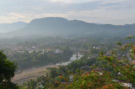 人生3度目の一人旅はタイ北部の町からメコン川を下りルアンパバーンへの周遊旅行~5日目ルアンパバーン散策とクアンシーの滝~
