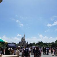 【千葉】2019☆夏 8歳4歳子連れ  日帰り ディズニーランド