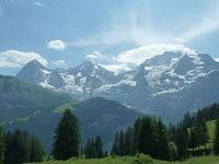 2019 スイス2人旅  6  Berner Oberland Regional-Pass を使って~ ミューレン周辺