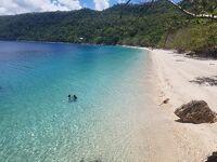 ほぼ貸し切り状態のきれいな海 カニバッドビーチ